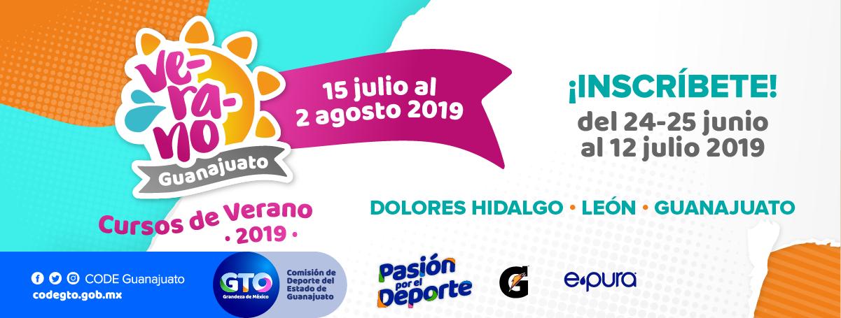 Cursos De Verano 2019 Comision De Deporte Del Estado De Guanajuato